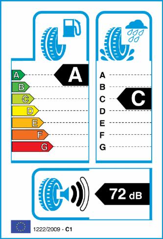 CONTINENTAL CROSS CONT LX SPORT 235/60-20 EU Label