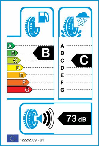 ACCELERA 265/50-19 EU Label