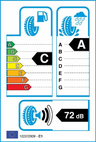 PIRELLI PZERO 275/35-21 EU Label