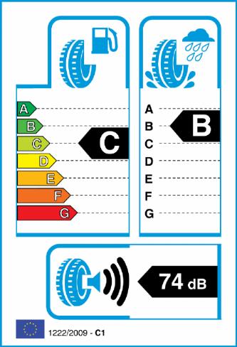 ACCELERA IOTA ST68 255/45-20 EU Label