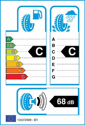 ACCELERA IOTA ST68 255/50-20 EU Label