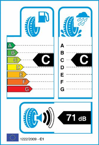 RIKEN ROAD PERFORMANCE 205/65-15 EU Label