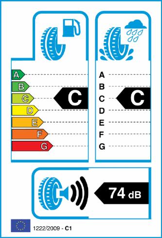 ACCELERA 275/45-19 EU Label