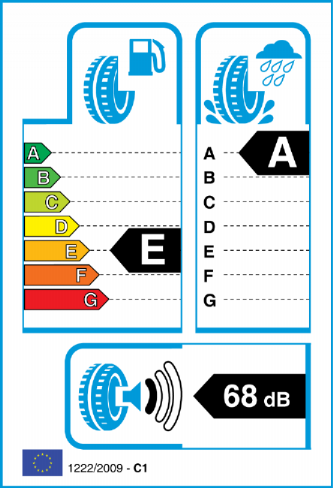GOODYEAR EAGLE F1 ASYM 2 235/45-18 EU Label