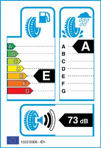 CONTINENTAL SPORT CONTACT 5 255/35-19 EU Label