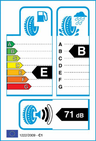 MAXXIS VS01 255/45-19 EU Label