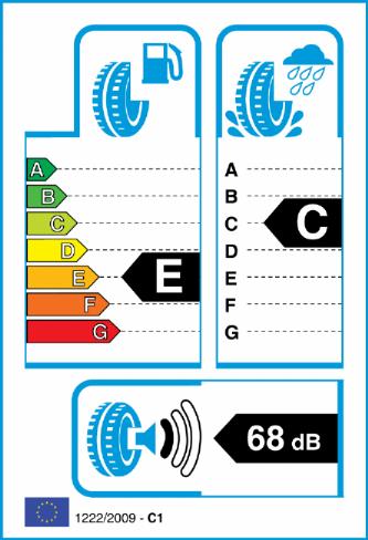 ACCELERA IOTA ST68 265/40-20 EU Label