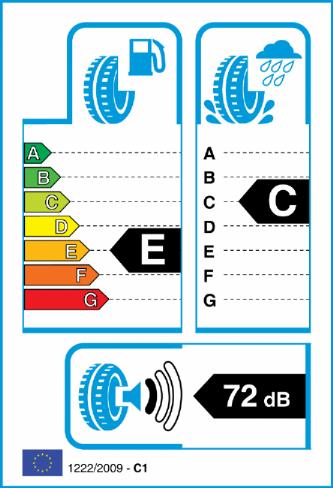 ACCELERA 295/25-21 EU Label