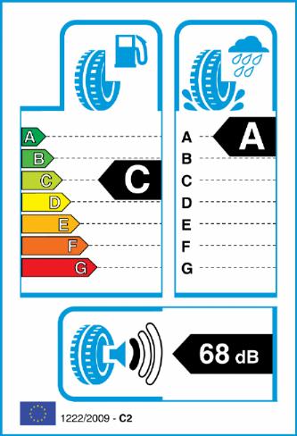 NEXEN ROADIAN CT8 185/80-14 EU Label